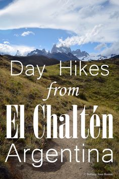 Day Hikes from El Chalten || Brittany from Boston