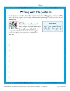 Worksheet On Comparing Fractions Word Free Printable Worksheet Atmosphere Layers Gases Composition  Crash Course Us History Worksheets Word with Polynomial Division Worksheet Writing Worksheet Activity  Interjections  This Worksheet Takes  Interjections To The Next Level Now 8th Grade Math Worksheets Online Excel