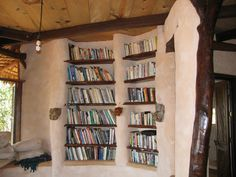 The most perfect cob bookcases.