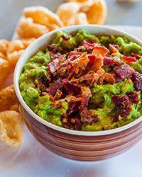 Smoky Chipotle and Bacon Guacamole Recipe on Food & Wine