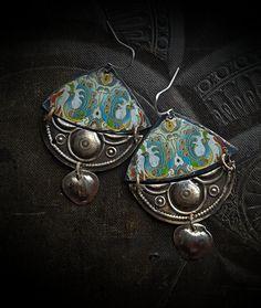 Petit collier boucles dans Antique Couleur bronze 7 mm 50 Pièce De vintageparts