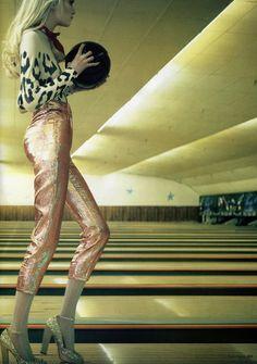 Superbowl | Vlada Roslyakova by Laurie Bartley