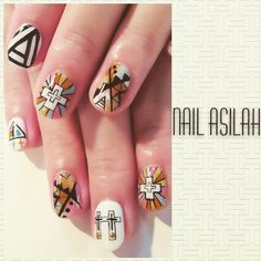 ネイル 画像 moga hair WITH & nail ASILAH 幸手 787865