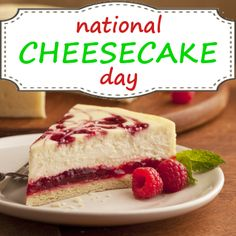 National Cheesecake Day  July 30, 2014- Google Search