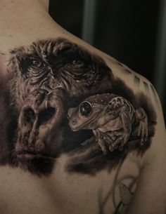 Dmitriy Samohin from Ukraine is without a doubt one of the most talented realistic tattoo artists in the world. Description from pinterest.com. I searched for this on bing.com/images