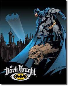Batman The Dark Knight - Vintage Tin Sign
