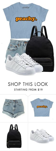 """""""Untitled #469"""" by kellyaguilera ❤ liked on Polyvore featuring Nasty Gal, Radley and adidas Originals"""