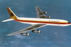 Continental Airlines- Boeing 707- 1970s