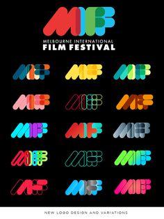 Melbourne International Film Festival (MIFF)  Art Direction, Branding, Graphic Design