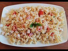 Κρύα σαλάτα ζυμαρικών με σως γιαουρτιού | Foodouki - YouTube Pasta Salad, Ethnic Recipes, Youtube, Food, Crab Pasta Salad, Essen, Meals, Youtubers, Yemek