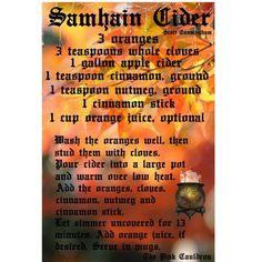 Samain:  #Samhain Cider.