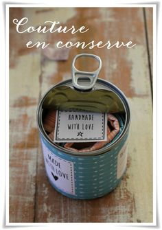 Nähen in Dosen {tuto inside} - Teil 1 - Angel Mélie - original - Diy Cadeau, Coin Couture, Craft Markets, Jar Gifts, Diy Projects To Try, Diy For Kids, Packaging, Diy Crafts, Homemade