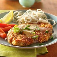 Lemon-Sesame Chicken. An awesome weeknight dinner!