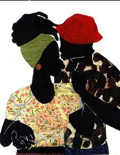 ART: JAMILLA OKUBO - 'LOVE YOU' ILLUSTRATION SERIES.