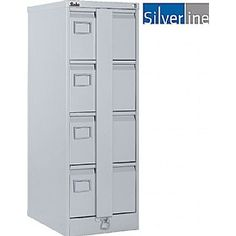 bringing secure solutions to the workplace. Free UK mainland delivery on Silverline Secure Executive Filing Cabinets. Filing Cabinets, Workplace, Lockers, Locker Storage, Metal, Furniture, Home Decor, Decoration Home, Room Decor