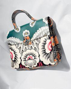 Obsessed with thisFloral Handbag by Valentino Garavani