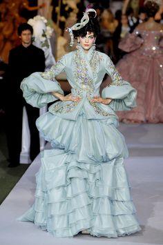 Christian Dior at Couture Fall 2007 - StyleBistro