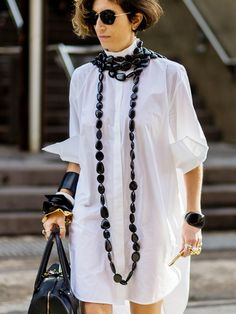 The Latest Street Style Photos From Australian Fashion Week via @WhoWhatWear