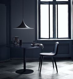 Semi Pendant by GUBI - Designed in 1968 by two architecture students, Claus Bonderup and Torsten Thorup.  Denmark