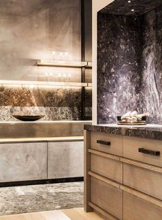Access luxury kitchen design photo gallery from top interior designers. From custom made, modern and traditional find it all here - FREE! Kitchen Interior, Room Interior, Interior Design Living Room, Luxury Kitchens, Cool Kitchens, Tuscan Kitchens, Cuisines Design, Living Room Kitchen, Dining Rooms