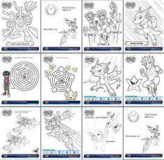 Free Digimon Fusion Printables
