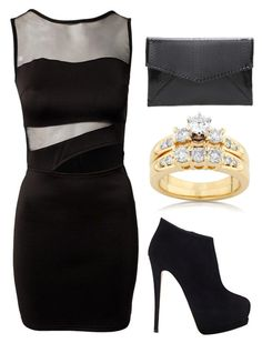 """""""Outfit Idea by Polyvore Remix"""" by polyvore-remix ❤ liked on Polyvore featuring Kobelli and Giuseppe Zanotti"""
