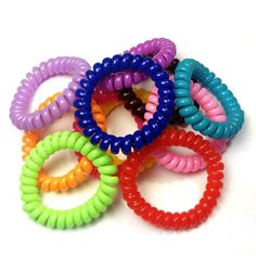 Gifts for tennis players [not the expensive ones] Cute Bracelets, Colorful Bracelets, Fashion Bracelets, Claire's Accessories, Hair Tie Bracelet, Kawaii Jewelry, Scented Wax Melts, Sensory Toys, Tech Gifts