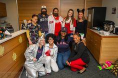 Happy #Halloween! Staff in the Jimmy Fund Clinic show their Halloween spirit.