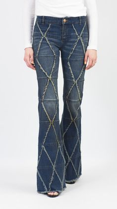 SOLD OUT | Free People Tyler Tulip Flare Jeans | Shop Discounted Designer Clothing at The Mercantile