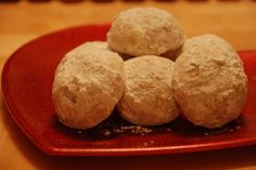 Christmas Snowball Cookies. Photo by Chef Glaucia