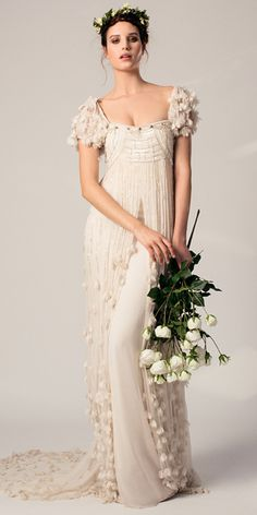 Temperley Bridal Spring 2015 - wedding dress - mariage - matrimonio - boda - nupcial - vestido de novia - floral