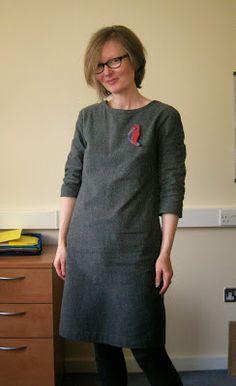 Roobeedoo: FO: Subversive Schoolgirl Camber Dress by Merchant and Mills