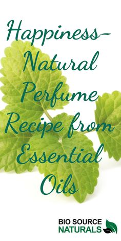 DIY from essential oils, natural perfume recipe: Happiness.  #DIY #naturalperfume #essentialoils