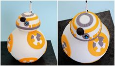 Learn How To Make A 'Star Wars' BB-8 Cake [Video]