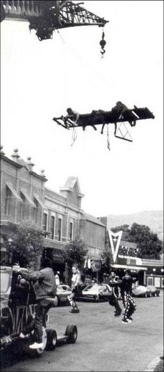 Back To The Future - Behind The Scenes - Hover Boards