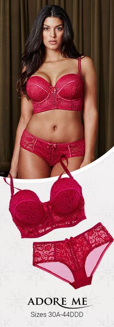 Introducing Adore Me's new longline bra | Available in DD+ and Plus Sizes