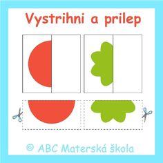 ABC Materská škola - Nový ŠVP pre MŠ - Zdravá zelenina a Záhradník - farebné predlohy na Interaktívnu tabuľu. Diagram, Chart