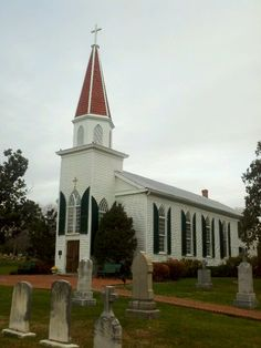 Historic St Mary's Catholic in Fairfax Virginia.  Have attended mass here on special occasions.