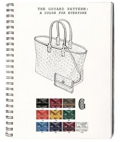 Design Under the Influence: Goyard  I WANT