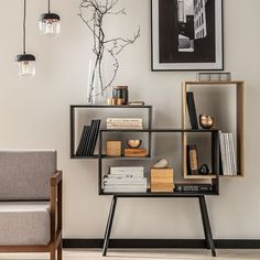Buy the Vox Ribbon Low Bookcase today! Low APR Finance Available. Bookshelf Closet, Slim Bookcase, Bookshelves, Modern Study Rooms, Cool Kids Bedrooms, Man Room, Built In Storage, Apartment Interior, Office Interiors