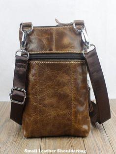4bc164fb7 WESTAL Small Men's Genuine Leather Shoulder Bag