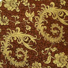 Gc71 tissu de brocart jacquard tissé de broderie fine 0,5m (50cm x90cm)