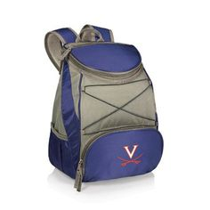 Picnic Time 23 Can NCAA PTX Backpack Cooler Color: Navy, NCAA Team: West Virginia