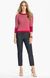 St. John Collection Sweater & Denim Pants