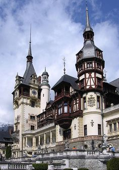 Peles Castle Romania   - Explore the World with Travel Nerd Nici, one Country at a Time. http://TravelNerdNici.com