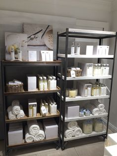If you require volumes of retail display items and have a healthy lead time, ask as about bespoke items.  Here is a good example of our Kingsley Range done for The White Company with a bespoke distressed white finish.