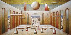 CRUCITA GUTIÉRREZ SEGOVIA: MIS AMIGOS PINTORES - CARLO MIRABASSO Fine Art, Contemporary, Painting, Portal, Search, Google, Surrealism, Friends, Pintura
