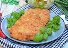 Kotlety drobiowe w serowej panierce - DoradcaSmaku.pl Salmon Burgers, Meat, Chicken, Ethnic Recipes, Food, Essen, Meals, Yemek, Eten