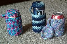 Ravelry: Crocheted Can Cozy pattern by Haley haleys-hook