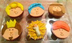 Nacimiento cupcakes